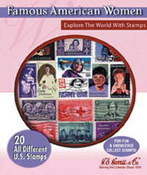 Famous American Women -- 20 Stamps Famous American Women -- 20 Stamps, HE Harris & Co, 90922051