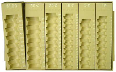 Six Tray Coin Holder Six Tray Coin Holder, MMF, 221610103