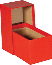 "Guardhouse Single Row Standard Slab Box - 4.5"" Slab & Krown Regular Duty Chipboard Box Guardhouse Single Row, Guardhouse, GH-4.5x2.63x2.5"