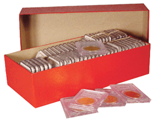 Coin and Slab Storage Boxes