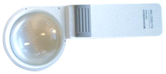 5x Illuminated Hand-Held Magnifier Eschenbach 1510-5 60mm 5x Illuminated Hand-Held Magnifier Eschenbach 1510-5, Eschenbach, 1510-5