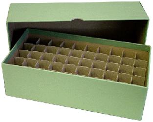 Guardhouse Dime Tube Storage Box - Green