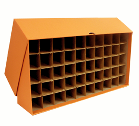 Guardhouse Quarter Tube Storage Box - Orange