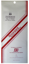 Showgard Stamp Mounts 89x240mm Clear