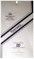 Showgard Stamp Mounts 100x240mm Black