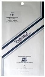 Showgard Stamp Mounts 111x264mm Black
