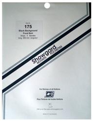 Showgard Stamp Mounts 175x264mm Black