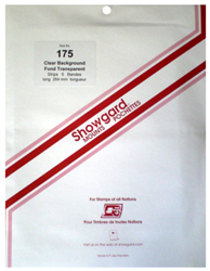 Showgard Stamp Mounts 175x264mm Clear