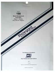 Showgard Stamp Mounts 198x264mm Black