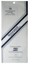 Showgard Stamp Mounts 70x264mm Black