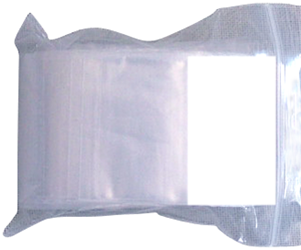 Zip Lock Bag - Write On 2x2