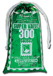 Bag of World-Wide Stamps