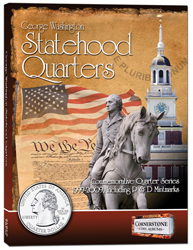 Cornerstone Statehood Quarter Album P&D