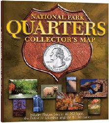 National Park Quarters Collectors Map