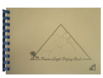 The Original Desert Magic Stamp Drying Book