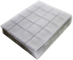 2x2 Supersafe Vinyl Coin Flip 1,000 Bulk Pack Supersafe 2 x 2 Coin Flip 1,000 Bulk Pack, Supersafe, SF2BN