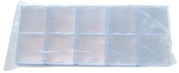 1.5x1.5 Frame A Coin #60UN Vinyl Coin Flips 100 Pack 1.5x1.5 Frame A Coin #60UN Vinyl Coin Flips 100 Pack, Frame A Coin, 60UN - Inserts