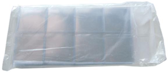 Single Pocket Coin Flips Plastic Soft 100 2x2 Sleeves Semi Rigid Vinyl FREE Post