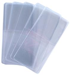2x2 Soft Vinyl Coin Flips Single Pocket 1,000 Bulk Pack 2x2