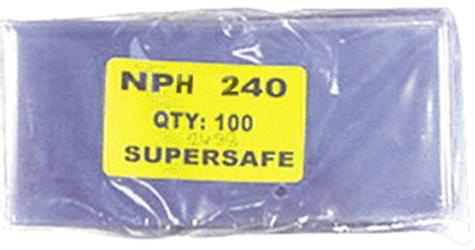 Supersafe NPH240 Modern Currency Sleeves