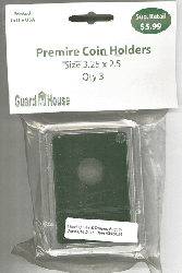 16.5 mm Premier Coin Slab 3.25 x 2.5 Inch 16.5 mm Premier Coin Slab 3.25 x 2.5 Inch, Guardhouse, CH16