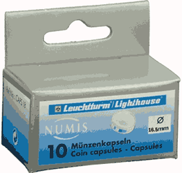 16.5mm - Coin Capsules  16.5mm