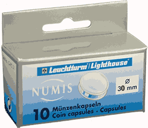 30mm - Coin Capsules  30mm 30mm - Coin Capsules , Lighthouse, CAPS30