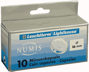 36mm - Coin Capsules  36mm