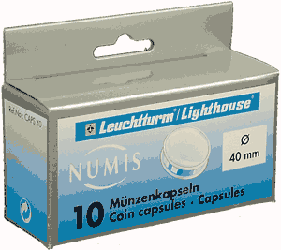 40mm - Coin Capsules  40mm