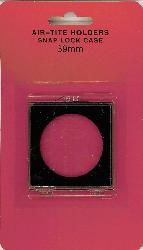 Air-Tite 1 oz Silver Round 2 x 2 Snaplock Silver Round Air Tite 2x2 Snap Lock, Air Tite, SLC1-39