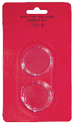 Half Dollar Direct Fit Air-Tite Coin Capsule 30.6mm Half Dollar Direct Fit Air-Tite Coin Capsule , Air Tite, T30.6