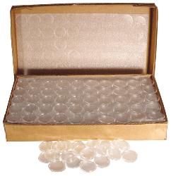 Quarter Direct Fit Air Tite Coin Capsule 24mm - Bulk 250 Pack Quarter Direct Fit Air Tite Coin Capsule Bulk Pack , Air Tite, A24 Bulk