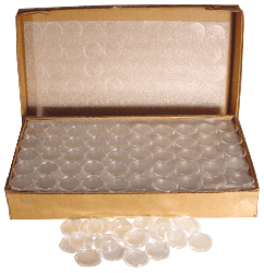 Air-Tite T30 Half Dollar Direct Fit Coin Capsules Bulk Pack