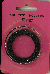 38mm Ring Fit Air Tite Coin Capsule