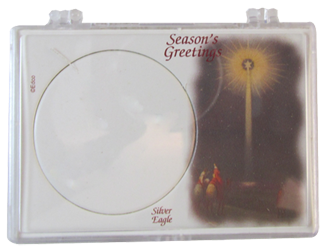 American Silver Eagle Christmas Star Gift Case