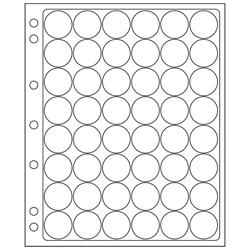 ENCAP Clear Model A Coin Capsule Pages ENCAP, Clear ,Model A, Coin Capsule Pages, ENCAP24/25