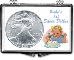 Babys First Silver Dollar -American Silver Eagle Babys First Silver Dollar -American Silver Eagle, SN219