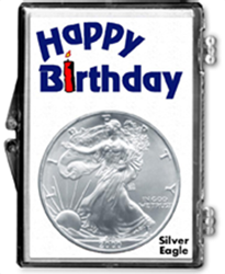Birthday Candle- American Silver Eagle Birthday Candle- American Silver Eagle, SN221