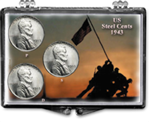 Steel Cents - Iwo Jima Steel Cents - Iwo Jima, SN173