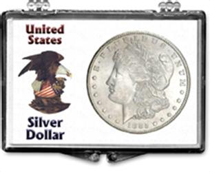 Silver Dollar Snapcase Silver Dollar, SN186