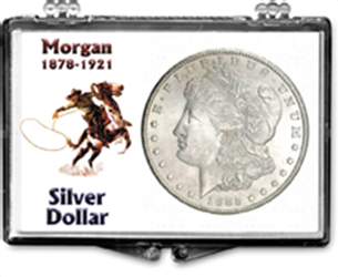Morgan Dollar Snapcase Morgan Dollar, SN187