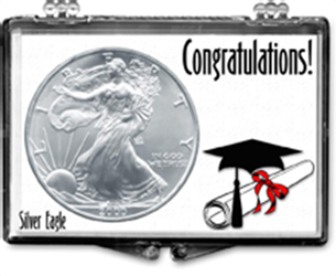 Graduation Cap and Deploma- American Silver Eagle Graduation Cap and Deploma American Silver Eagle, SN215