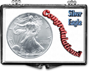 Congratulations- American Silver Eagle Congratulations- American Silver Eagle, SN222
