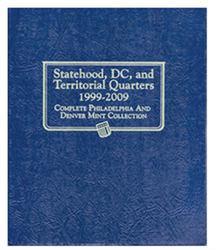 Whitman Statehood, D.C., and Territorial Quarters Album 1999 - 2009