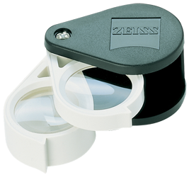 Zeiss Aplanatic-Achromatic Double Loupe: 36D (9x) Zeiss Aplanatic-Achromatic Double Loupe, Z00004