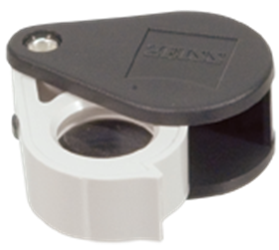 Zeiss Aplanatic-Achromatic Pocket Loupe: 24D (6x) Zeiss Aplanatic-Achromatic Pocket Loupe- 6X, Z00002