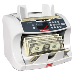 Semacon Bank Grade Currency Counter S-1200 Bank Grade Currency Counter, S-1200