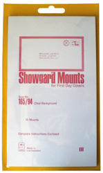 First Day Cover- Showgard Mounts First Day Cover- Showgard Mounts, 165/94