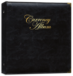 Whitman Premium Currency Album for Modern Notes - Clear View Premium, Currency, Album - Modern Notes, 0794827810