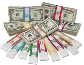 Currency Straps $5000 Currency Straps, $5000, 216070I09